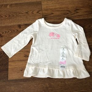 👶NWT 9 mo Jumping Beans Long Sleeve Blouse